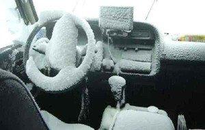 Как прогреть машину