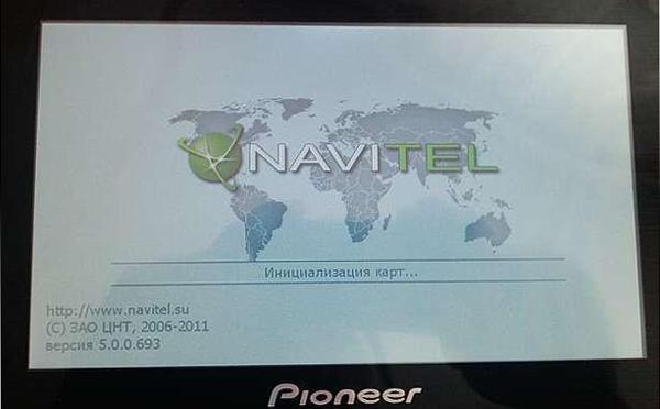 7-дюймовый дисплей gps навигатора