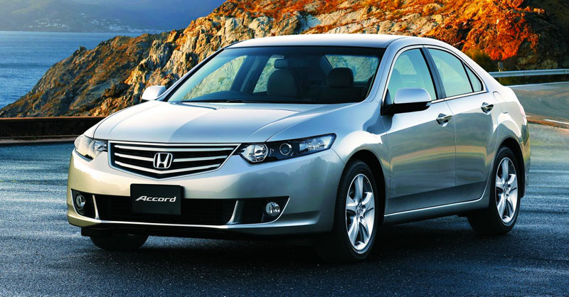 Honda Accord - шальной автомат