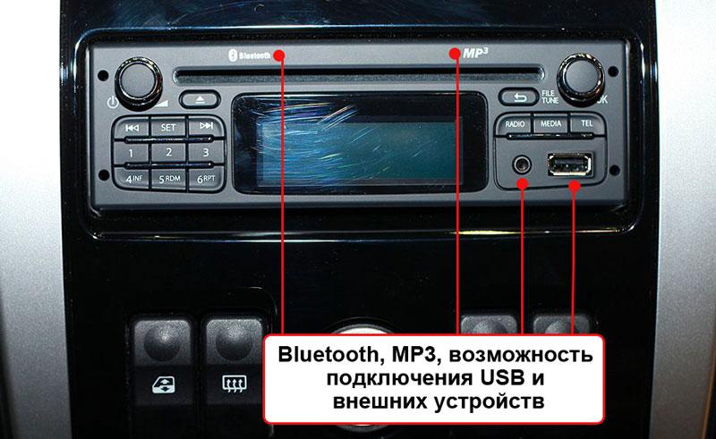 Аудиосистема Ларгуса
