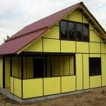 Как построить дом из сэндвич-панелей